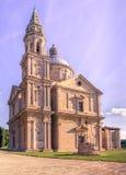 Montepulcianosan Biagio kerk stock fotografie