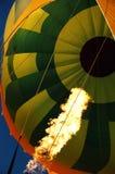 Monter en ballon d'air chaud Image stock