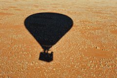 Monter en ballon (la Namibie) Photographie stock libre de droits