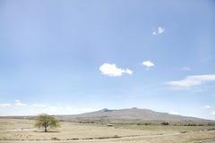 Montera Longonot och det härliga landskapet, Kenya Royaltyfri Foto