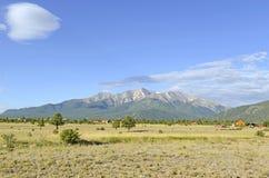 Montera Princeton, Colorado 14er i Rocky Mountains Arkivbilder