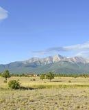Montera Princeton, Colorado 14er i Rocky Mountains Fotografering för Bildbyråer