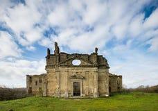 Monterano废墟  库存照片