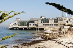 Monterey Bay Aquarium. California, tourist attraction, site of important marine and oceanography research Stock Images