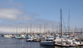 Monterey Bay Harbor. The boat harbor at Monterey Bay, California Royalty Free Stock Images