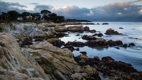 Monterey Bay Sunset stock video footage