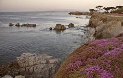 Monterey Coast California Stock Images