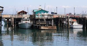 Monterey Fisherman's Wharf Royalty Free Stock Images
