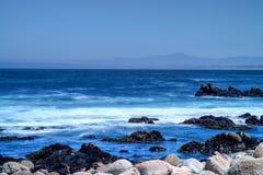 Monterey fjärdAsilomar tillstånd Marine Reserve Royaltyfri Bild