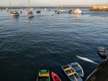 Monterey fjärdhamn arkivbild