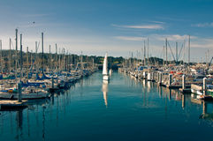 Monterey Harbor Stock Image