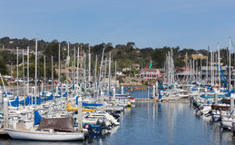Monterey Harbor and Marina Royalty Free Stock Image