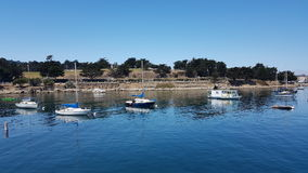 Monterey Harbour royalty free stock photos