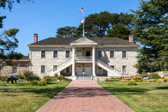 Colton Hall i Monterey, Kalifornien arkivfoton