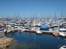 Monterey Marina. In California, United States Stock Photos