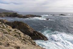 Monterey Peninsula Coastline - California Royalty Free Stock Photo
