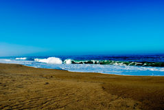 Monterey plaża Zdjęcie Stock