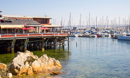 Monterey quay Royalty Free Stock Images