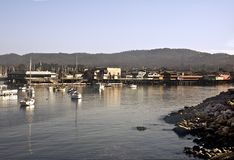 Monterey's Shoreline Stock Photo