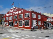 Monterey Sardinhas Canning Empresa CA imagem de stock royalty free