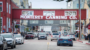 Monterey. 10 September 2016 - Monterey, USA. City of Monterey was the capital of Alta California under both Spain and Mexico. Awesome place to visit Royalty Free Stock Photography
