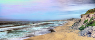 Monterey State Beach Royalty Free Stock Images
