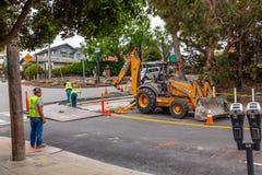 Monterey ulicy budowa fotografia stock