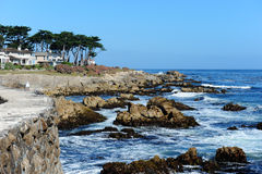 Monterey. A view from Monterey Bay USA Stock Photography