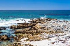 Monterey wybrzeże Fotografia Royalty Free