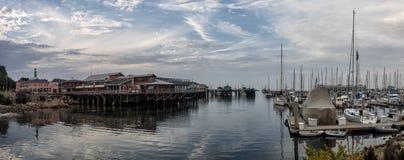 Montereys der Whar Fischers, Kalifornien Lizenzfreie Stockbilder