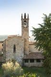 monteriggioni Тоскана Стоковые Фото