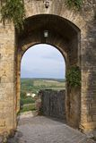 Monteriggioni. Is a comune in the Province of Siena in the Italian region Tuscany Stock Images