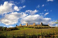 Monteriggioni Fotografia Stock