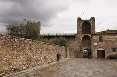 Monteriggioni photo stock