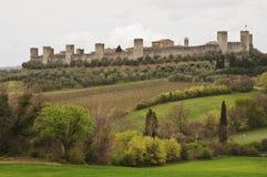 Monteriggioni Royalty Free Stock Photo