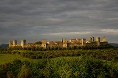 Monteriggioni Stock Afbeeldingen