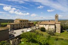 Monteriggioni imagenes de archivo