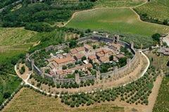 Monteriggioni Royalty-vrije Stock Foto