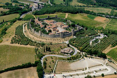 Monteriggioni Zdjęcie Stock