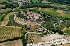 Monteriggioni Στοκ Εικόνες