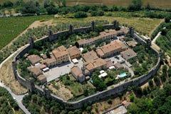 Monteriggioni Royalty-vrije Stock Foto's