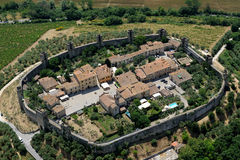 Monteriggioni Zdjęcia Royalty Free