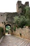 Monteriggioni Image stock