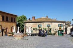 Monteriggioni, Тоскана, Италия Стоковые Фото