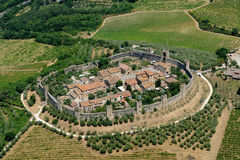 Monteriggioni Royalty Free Stock Photo
