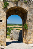 Monteriggioni is an ancient town near Siena, Italy Stock Image