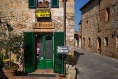 Monteriggioni Italia Fotografie Stock