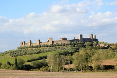 Monteriggioni in Italy Royalty Free Stock Photo