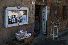 Monteriggioni Italy Stock Photo