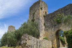 Monteriggioni. A little medieval city near the Siena, Toscana, Italy Royalty Free Stock Photography